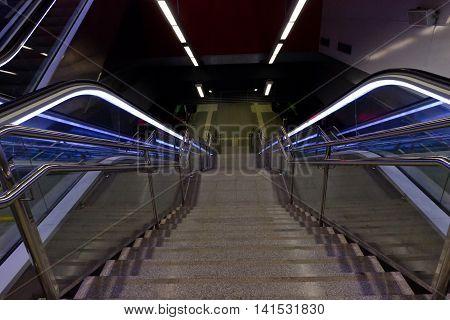 Stairway And Eksalator