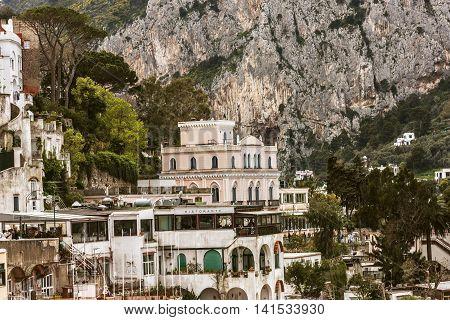 Magnificent Architecture Of Capri Island, Italy