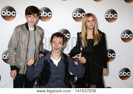 LOS ANGELES - AUG 4:  Mason Cook, Micah Fowler. Kyla Kenedy at the ABC TCA Summer 2016 Party at the Beverly Hilton Hotel on August 4, 2016 in Beverly Hills, CA