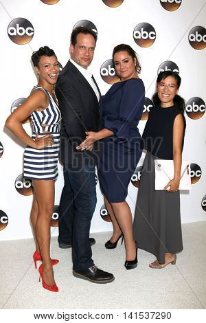 LOS ANGELES - AUG 4:  Carly Hughes, Diedrich Bader, Katy Mixon, Ali Wong at the ABC TCA Summer 2016 Party at the Beverly Hilton Hotel on August 4, 2016 in Beverly Hills, CA