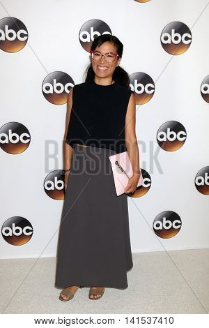 LOS ANGELES - AUG 4:  Ali Wong at the ABC TCA Summer 2016 Party at the Beverly Hilton Hotel on August 4, 2016 in Beverly Hills, CA