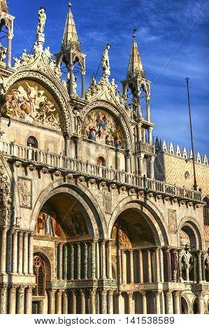 Exterior Of Basilica Di San Marco, Venice