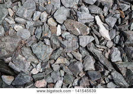 nature concept - close up of granite stones