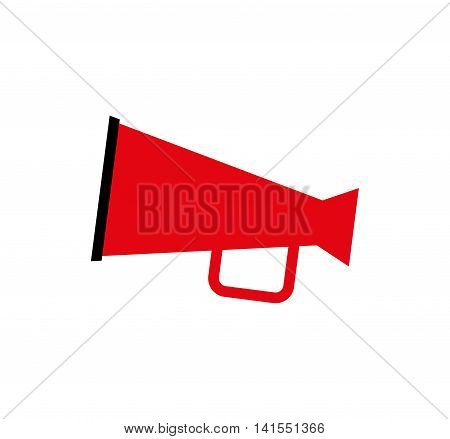 megaphone director film movie cinema icon. Isolated and flat illustration. Vector graphic