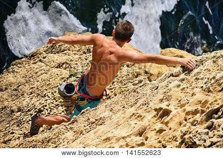 Extreme Climber Man