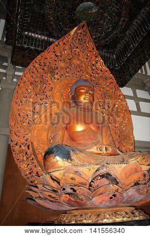 Byodo-in Temple, O'aho, Hawaii..