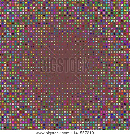 Abstract colorful circle background. Halftone design. Place for text. Halftone vector background. Colorful Template. EPS-10