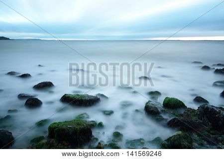 Long Exposure On The Sea
