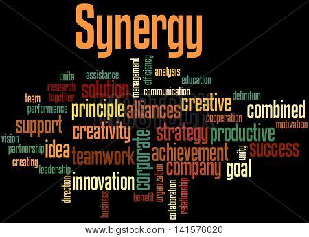 Synergy, Word Cloud Concept 5