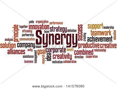 Synergy, Word Cloud Concept 7