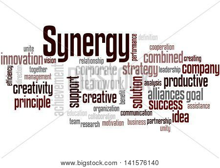 Synergy, Word Cloud Concept 3