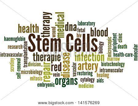 Stem Cells, Word Cloud Concept 2