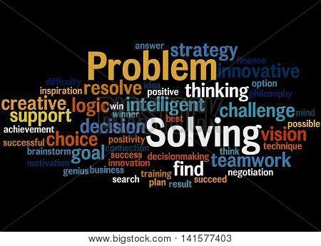 Problem Solving, Word Cloud Concept 7