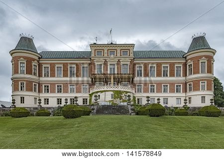hackeberga castle in the Skane region of Sweden.