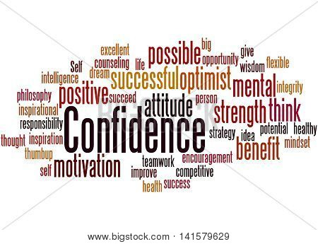 Confidence, Word Cloud Concept 8