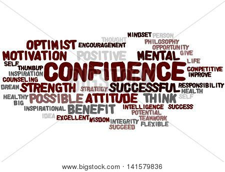 Confidence, Word Cloud Concept 4