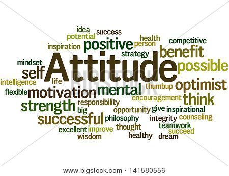 Attitude, Word Cloud Concept 8