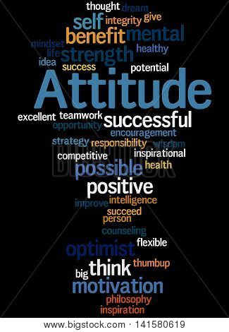 Attitude, Word Cloud Concept 5