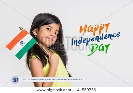 Independence day of india greeting card, happy independence day, 15 August greetings