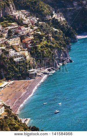 Spectacular Landscape Of Sorrento Coast, Italy