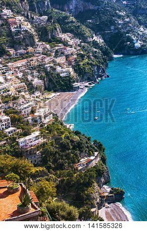 View Of Sorrento Coast, Italy