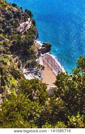 Coastline Of Sorrento, Italy