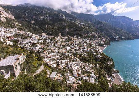 City View Of Sorrento, Italy
