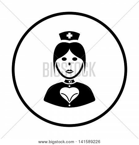 Nurse Costume Icon