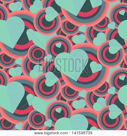 Vintage Seamless Romantic Pattern