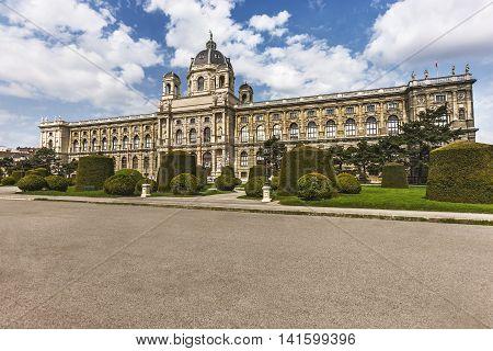 Beautiful View Of Museum Of Fine Arts,vienna,