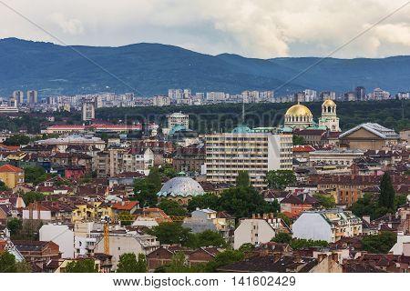 View Of Sofia, Bulgaria