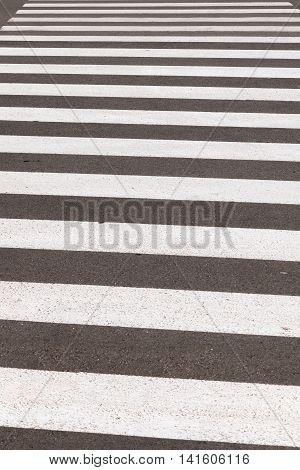 Crosswalk Or Pedestrian Crossing
