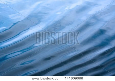 Water surface with waves for nature backgrounds
