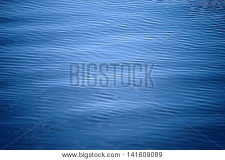 Rippled sea water surface for nature background