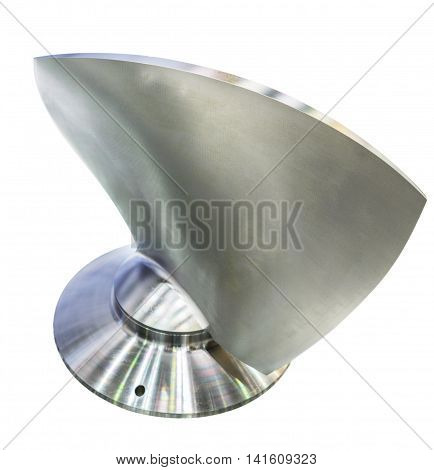 The Blade Of The Propeller, Stainless Steel.