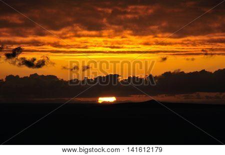 Sunset On An Islet