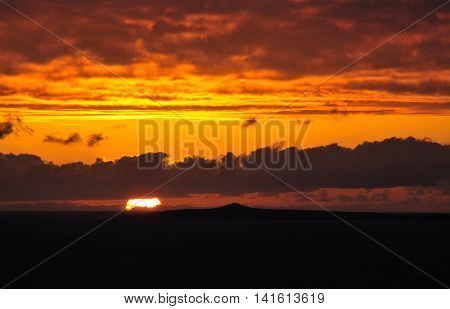 Sun As It Sets