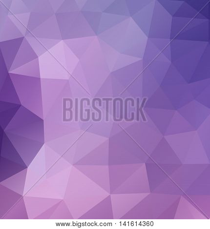 Vector retro pattern of geometric shapes, color triangle