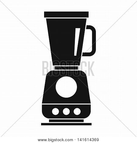 Blender icon in simple style isolated on white background. Home appliances symbol