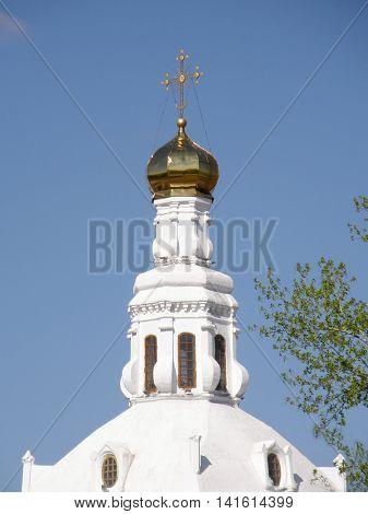 Orthodox Church. St. Odigitrievsky Cathedral. Ulan-Ude. Buryatia. Russia