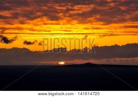 Sunset Behind Djeu