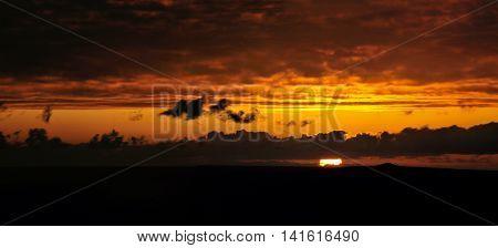 Illuminous Sunset