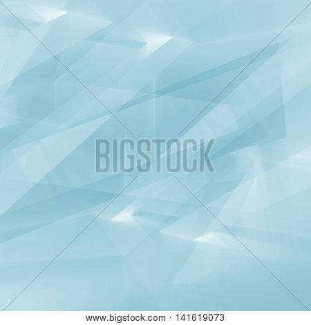 Digital 3D Chaotic Polygonal Background