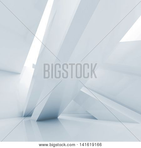 Abstract Contemporary Interior Background, 3 D