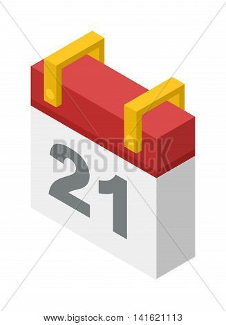 Calendar icon vector isolated, calendar icon graphic reminder element message symbol. Calendar icon message template shape office calendar icon appointment. Binder schedule calendar icon.