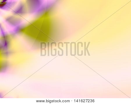 Abstract background for ppt template with gradient multiple colors-light purple,greenish yellow.
