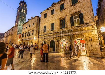 Historical, Stone Structures In Dubrovnik, Croatia