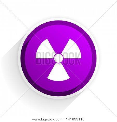 radiation flat icon