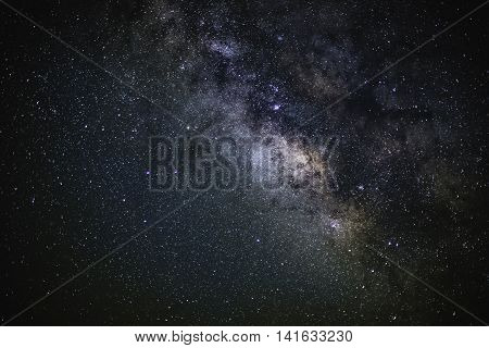 The Milky way Galaxy in the night sky
