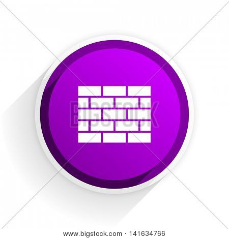 firewall flat icon